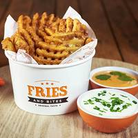 Waffle fries grandes 250 g