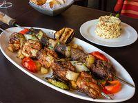Súper shish kebab Garbis