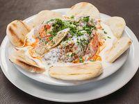 Shish kebab de picada completo
