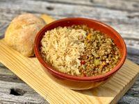 Guiso de Lentejas y vegetales al curry