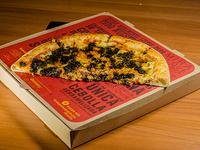 Pizza de Calamares en su Tinta