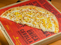Promo - Pizza familiar de pollo con crema y borde catupiry