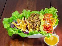 Ensalada mexicana de carne