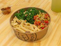 Bowl de pasta integral italiana