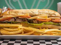 Sándwich de bondiola especial