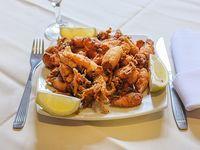 Calamarettis fritos