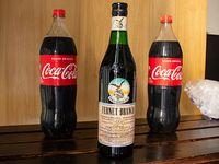 Combo 1 - Fernet Branca 750 ml + 2  Coca-Cola 1.5 L + hielo 2 kg