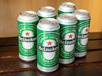 Combo 3 - 6 cervezas Heineken en lata 473 ml