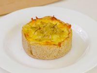 Tarta de puerro y queso