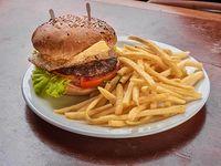 Súper burger sándwich
