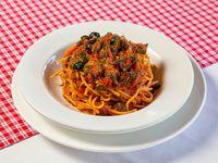 Spaghettis alla puttanesca
