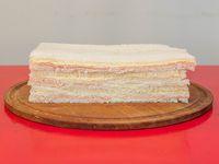 Sándwich de paleta y queso (3 unidades)
