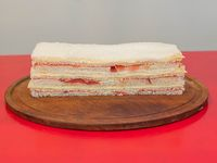 Sándwich de bondiola  y queso (3 unidades)