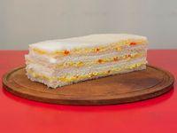 Sándwich de jamón cocido y choclo (3 unidades)