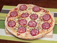 Pizza chica calabresa