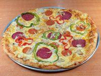 Pizza combinación mediana