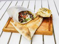 Combo 2 - 1 shawarma + 1 fatay de carne + 1 pasha bereg + 1 gaseosa