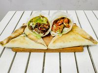 Combo 4 - 2 shawarma + 2 fatay de carne o verdura