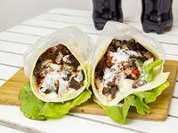 Combo 1 - 2 shawarma de lomo + 2 gaseosas