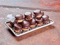 Mini alfajorcitos de chocolates