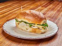 Sándwich en pan tortuga