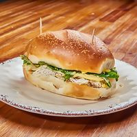 Sándwich especial en pan tortuga