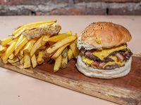 Triple beacon burger