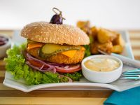 Fish burger - Reineta