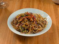 Spaghetti al wok