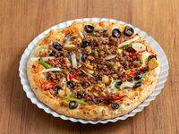 Pizza Veggie con Carne