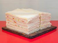 Promo - 2 docenas de sándwiche de miga triple triángular de paleta surtida