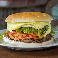 10 - Sándwich gigante chacarero + bebida