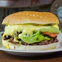 7  - Sándwich gigante  churrasco completo + bebida