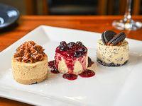 Degustación de cheesecakes