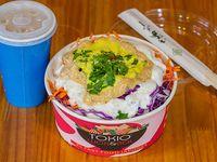 Sushi Bol de salmón y kanikama XL