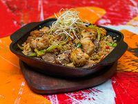 Wok de arroz mixto