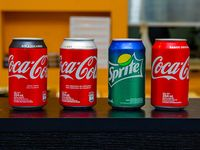 Gaseosa línea Coca Cola 350 ml en lata