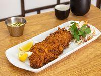Sakana fry de pescado blanco
