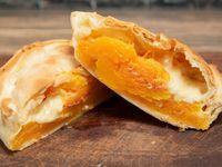 Tarta vegetariana de queso y calabaza