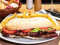 Promo - Sándwich  de bondiola con papas fritas
