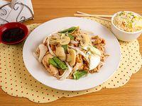 Promo - Pollo champiñón con arroz chaufan
