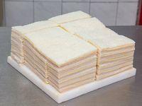 50 sándwiches simples de jamón cocido y queso