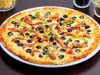 Pizza española (familiar 38 cm)