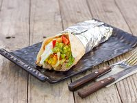 Wrap pulled beef (plateada)