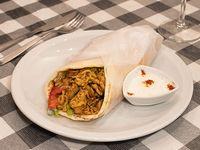 Shawarma de pollo en sándwich XL