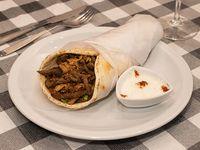 Shawarma mixto en sándwich XL