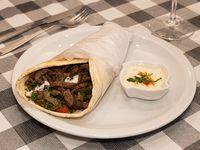 Shawarma de carne en sándwich XL