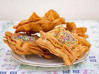 Pastelitos rellenos con dulce de membrillo