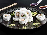 Cheese ebi tempura roll