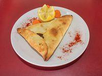 Empanada árabe Fatay